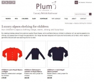 Plum of London luxury knitwear
