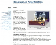 Renaissance Amplification